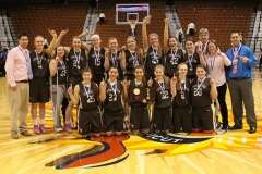 CIAC Girls Basketball Class S Tournament Finals - #1 St. Paul 57 vs. #3 Thomaston 61 - Postgame Activities (20)