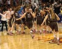 CIAC Girls Basketball Class S Tournament Finals - #1 St. Paul 57 vs. #3 Thomaston 61 - Postgame Activities (21)