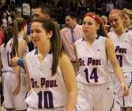 CIAC Girls Basketball Class S Tournament Finals - #1 St. Paul 57 vs. #3 Thomaston 61 - Postgame Activities (3)