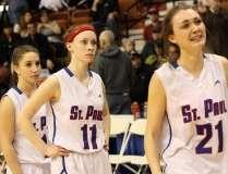 CIAC Girls Basketball Class S Tournament Finals - #1 St. Paul 57 vs. #3 Thomaston 61 - Postgame Activities (31)