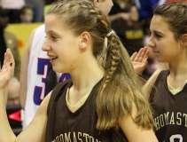 CIAC Girls Basketball Class S Tournament Finals - #1 St. Paul 57 vs. #3 Thomaston 61 - Postgame Activities (32)