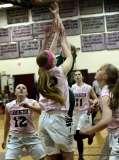 CIAC Girls Basketball Farmington 81 vs. Northwest Catholic 76 (11)