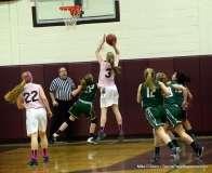 CIAC Girls Basketball Farmington 81 vs. Northwest Catholic 76 (26)