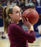 CIAC Girls Basketball; Focused on Farmington vs. RHAM - Photo # 005