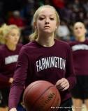 CIAC Girls Basketball; Focused on Farmington vs. RHAM - Photo # 008