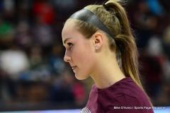 CIAC Girls Basketball; Focused on Farmington vs. RHAM - Photo # 016