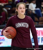 CIAC Girls Basketball; Focused on Farmington vs. RHAM - Photo # 024