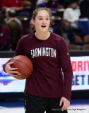 CIAC Girls Basketball; Focused on Farmington vs. RHAM - Photo # 025