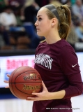 CIAC Girls Basketball; Focused on Farmington vs. RHAM - Photo # 026