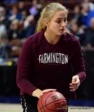 CIAC Girls Basketball; Focused on Farmington vs. RHAM - Photo # 036