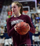 CIAC Girls Basketball; Focused on Farmington vs. RHAM - Photo # 054