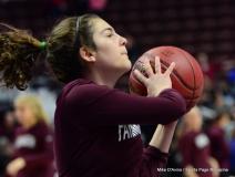 CIAC Girls Basketball; Focused on Farmington vs. RHAM - Photo # 057