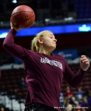CIAC Girls Basketball; Focused on Farmington vs. RHAM - Photo # 064