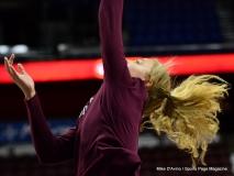 CIAC Girls Basketball; Focused on Farmington vs. RHAM - Photo # 072