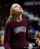 CIAC Girls Basketball; Focused on Farmington vs. RHAM - Photo # 075