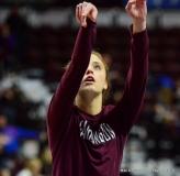 CIAC Girls Basketball; Focused on Farmington vs. RHAM - Photo # 076