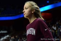 CIAC Girls Basketball; Focused on Farmington vs. RHAM - Photo # 083