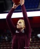 CIAC Girls Basketball; Focused on Farmington vs. RHAM - Photo # 093