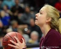 CIAC Girls Basketball; Focused on Farmington vs. RHAM - Photo # 097