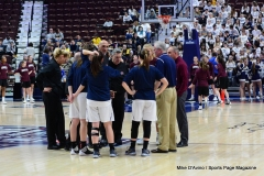CIAC Girls Basketball; Focused on Farmington vs. RHAM - Photo # 129