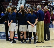 CIAC Girls Basketball; Focused on Farmington vs. RHAM - Photo # 132