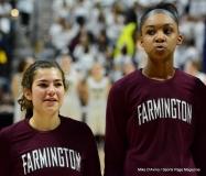 CIAC Girls Basketball; Focused on Farmington vs. RHAM - Photo # 150