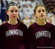 CIAC Girls Basketball; Focused on Farmington vs. RHAM - Photo # 153