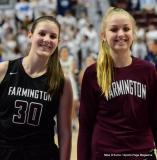 CIAC Girls Basketball; Focused on Farmington vs. RHAM - Photo # 161