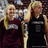 CIAC Girls Basketball; Focused on Farmington vs. RHAM - Photo # 162