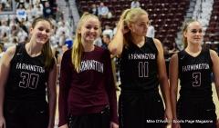CIAC Girls Basketball; Focused on Farmington vs. RHAM - Photo # 164