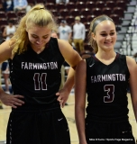CIAC Girls Basketball; Focused on Farmington vs. RHAM - Photo # 169