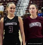 CIAC Girls Basketball; Focused on Farmington vs. RHAM - Photo # 170