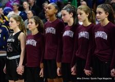 CIAC Girls Basketball; Focused on Farmington vs. RHAM - Photo # 222