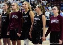 CIAC Girls Basketball; Focused on Farmington vs. RHAM - Photo # 231