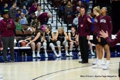 CIAC Girls Basketball; Focused on Farmington vs. RHAM - Photo # 242
