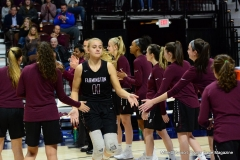 CIAC Girls Basketball; Focused on Farmington vs. RHAM - Photo # 273