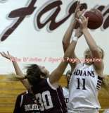 Gallery CIAC Girls Basketball; Focused on Farmington 56 vs. Bulkeley 16 - Photo # (1)