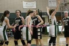 Gallery CIAC Girls Basketball; Holy Cross 53 vs. Woodland 44 - Photo # (219)