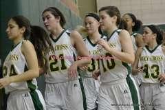 Gallery CIAC Girls Basketball; Holy Cross 53 vs. Woodland 44 - Photo # (222)