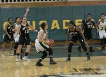 CIAC Girls Basketball; Holy Cross 72 vs. Waterbury Career 31 - Photo # (123)
