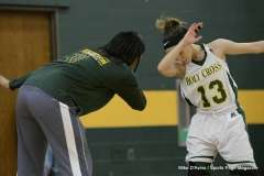 CIAC Girls Basketball; Holy Cross 72 vs. Waterbury Career 31 - Photo # (33)