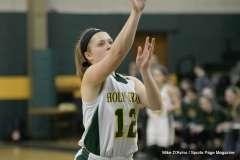 CIAC Girls Basketball; Holy Cross 72 vs. Waterbury Career 31 - Photo # (42)