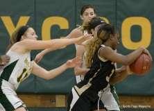 CIAC Girls Basketball; Holy Cross 72 vs. Waterbury Career 31 - Photo # (50)