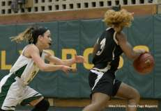 CIAC Girls Basketball; Holy Cross 72 vs. Waterbury Career 31 - Photo # (54)