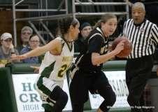 CIAC Girls Basketball; Holy Cross 72 vs. Waterbury Career 31 - Photo # (61)