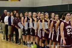 CIAC Girls Basketball Holy Cross 75 vs. Torrington 33 (22)