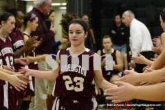 CIAC Girls Basketball Holy Cross 75 vs. Torrington 33 (26)