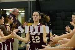 CIAC Girls Basketball Holy Cross 75 vs. Torrington 33 (28)