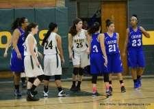 CIAC Girls Basketball Holy Cross JV 43 vs. Crosby JV 29 (11)