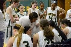 CIAC Girls Basketball Holy Cross JV 43 vs. Crosby JV 29 (17)